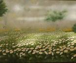 35x70 cm Daisies