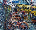 commuter bikes /school bus