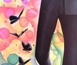 VOLO DI FARFALLA (oil on canvas 100x50/ 2012)