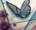 MARIPOSA (oil on canvas 70x50/2012)