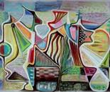 Genesis, 70 x 100 cm, soft pastel,2011