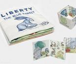 Liberty, the blue rabbit