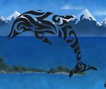 Glyphins Shadows: Maori Dolphin