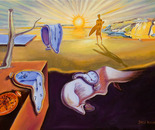 The persistence of memory (After Dali)