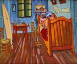 Vincents bedroom in Arles for surfers