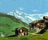 Swiss Alps and Huts