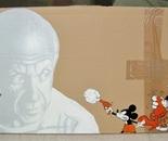 """dixon / """"Picasso vs Mickey"""" / 2006"""