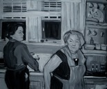 Mommy and Grandma in the Kitchen