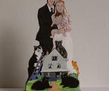 Cake Topper Rachel and Doug