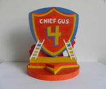 Cake Topper Chief Gus (back)