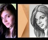 Mini portrait from photo