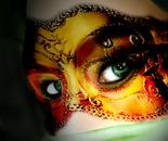 "Mask Series ""Emerald eyes"""