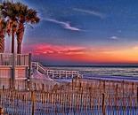Sunset at Florida Resort