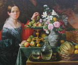 Portrait of an Unknown Woman with Fruit