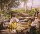 Christ and Samaritan
