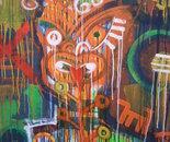 Abstract Tamanui with Skok Dog