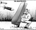 The Arab protests