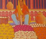 indian woman in Jaïpur