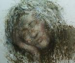 A Happy Life No.1 (2008, Oil on Canvas, 150cm x 150cm)
