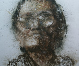 A Happy Life No.4 (2008, Oil on Canvas, 150cm x 150cm)