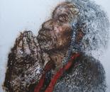 A Happy Life No.2 (2008, Oil on Canvas, 150cm x 150cm)