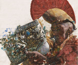 Sacred Sound No.3 (2007, Oil on Canvas, 135cm x 135cm)