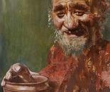 A Happy Life No.5 (2005, Oil on Canvas, 90cm x 70cm)