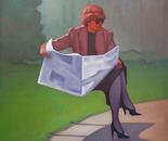 Career Woman, 100x80 cm
