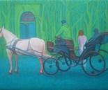 Cavallo, 75x110 cm
