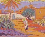 landscape in south morocco