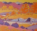 Sinai desert in Egypt