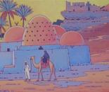 landscape in south Egypt
