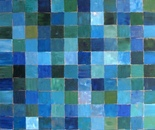 Feeling Square Blue, 60x70, 2013