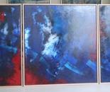 Trip-Blue - 3 x 140x150cm