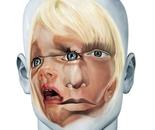 Face FS113 Still Child, 200x145 cm, oil on canvas, 2012.