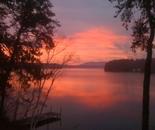 Lake Winnepeasaukee Fall Morning