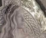 Celtic Goddess - portrait detail