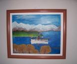Ferry ride in Queenstown ,New Zealand