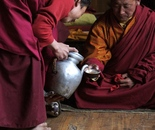 Two Monks, Pouring Tea