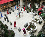 Exhibition at Plaza Athenee Hotel in Paris
