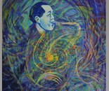 Lester Young is breathing