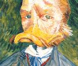 Selfportrait with a Beak
