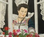 Charme e couleurs de la Bretagne - olio su tela, cm 40x50