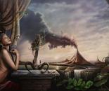 """Pele Honua Mea""   acryl op Canvas   120 x 80 cm"