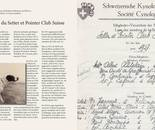 Setter & Pointer Club Switzerland - book