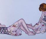 """""""Romina 31"""" 100x180 oil on canvas 2014"""