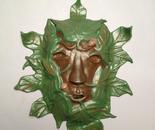 Green Man (wall piece)