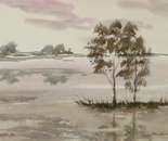watercolor landscape 628