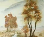 autumn riverside landscape 636