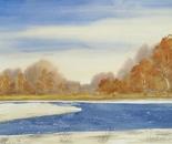 autumn riverside landscape 642